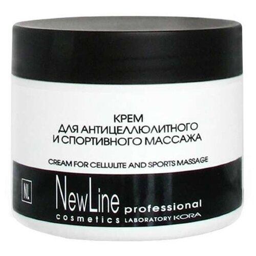 NewLine крем Для антицеллюлитного и спортивного массажа 300 мл какое масло для антицеллюлитного массажа лучше