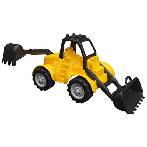 Купить Бульдозер Terides Т8-016 42 см желтый/черный, Машинки и техника