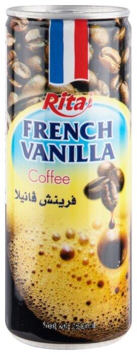 Кофейный напиток Rita Ванильный с молоком 0.25 л