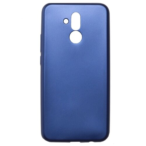 Чехол Akami Soft-touch для Huawei Mate 20 Lite (силикон) темно-синий