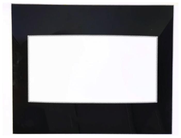 Стекло для дверцы GEFEST внутреннее, 1200.18.0.004-01