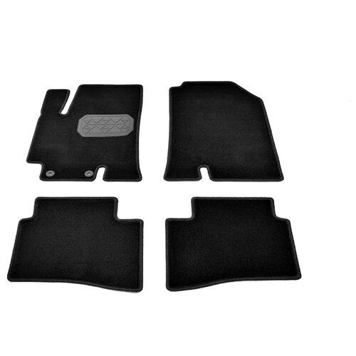 Комплект ковриков NorPlast NPA10-VTe310-380 Hyundai Solaris 4 шт. черный