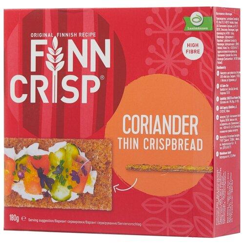 Сухарики ржаные Finn Crisp бородинские с кориандром (коробка) 180 г жакет finn flare finn flare mp002xw18ugv
