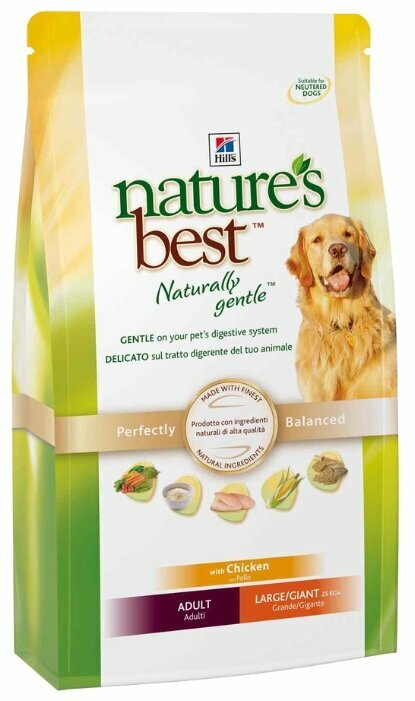 Корм для собак Hill's Nature's Best (для крупных пород)