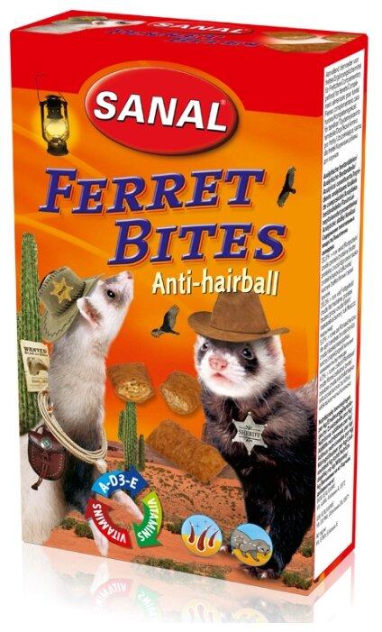 Лакомство для хорьков SANAL Ferret Bites Anti