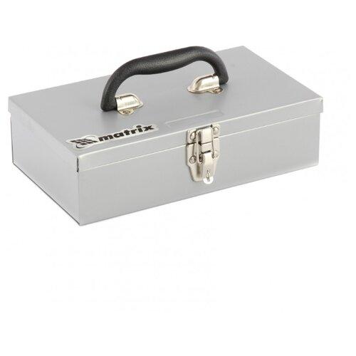 Ящик matrix 906055 28.4x16x7.8 см серый ящик для инструментов matrix 28 4х16х78см 906055