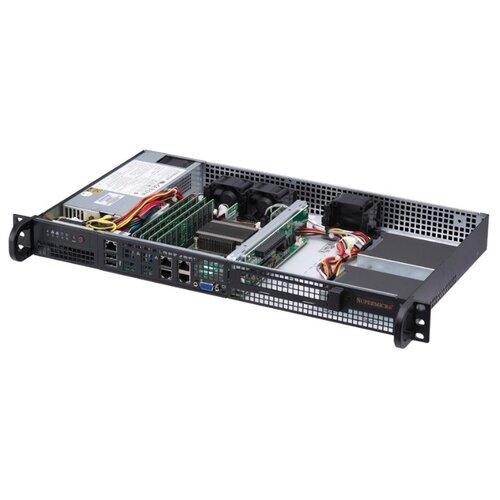Сервер Supermicro SuperServer 5019A-FTN4 без процессора/без ОЗУ/без накопителей/1 x 200 Вт