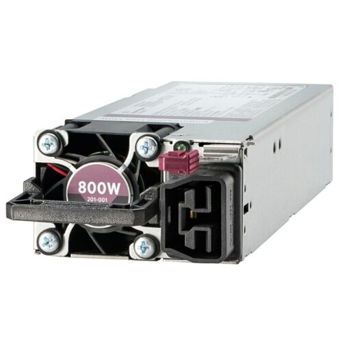 Блок питания Hewlett Packard Enterprise 865414-B21 800W блок питания hp 900w ac 240vdc rps power 814835 b21