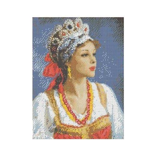 Купить Аленушка Рисунок на ткани 27, 3х38, 4 Каролинка ТКБЛ 3024, Канва