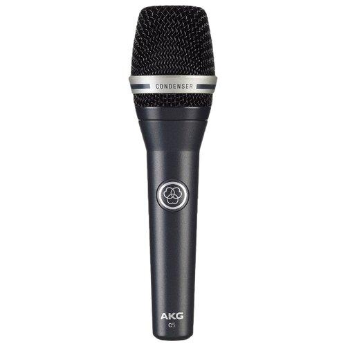 Микрофон AKG C5 черный профессиональные студийные наушники akg k240 studio 2058x00130