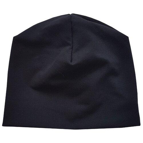 Купить Шапка Папитто размер 48, черный, Головные уборы