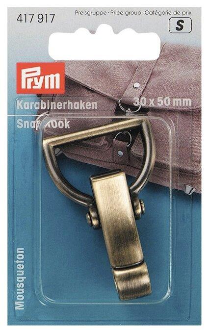 Prym Карабин для сумок 30х50мм