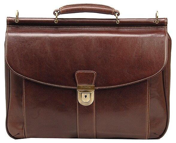 Портфель для мужчин Dr.Koffer B500060, натуральная кожа