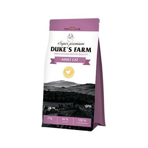 Сухой корм для кошек DUKE'S FARM с курицей 2 кг
