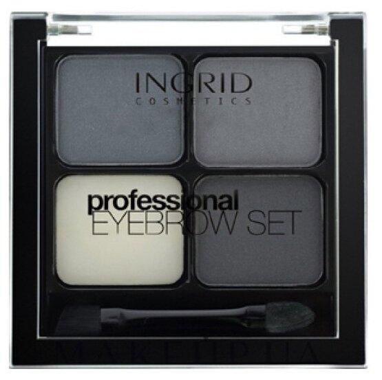 Ingrid Cosmetics Набор для бровей Professional Eyebrow Set