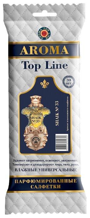 Салфетки влажные парфюмированные Top Line №34 по мотивам Shaik 33