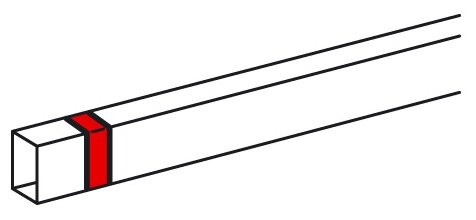 Соединение/накладка на стык для настенного кабель-канала Legrand 638126