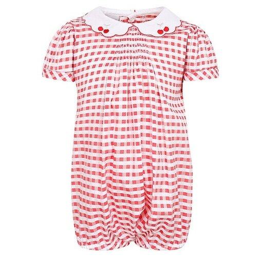 Песочник Marlu размер 50, красный/белый платье oodji ultra цвет красный белый 14001071 13 46148 4512s размер xs 42 170