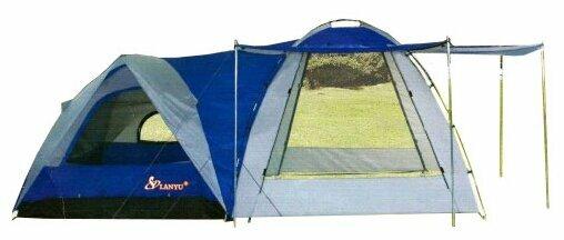 Туристическая палатка 4 местная Lanyu 1706