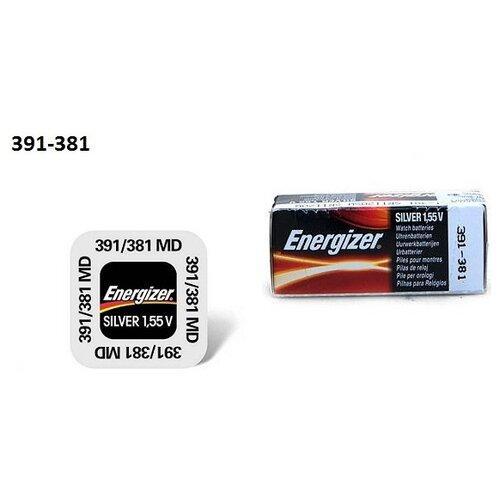 Фото - Батарейка Energizer Silver Oxide 391/381 (1 штука) батарейка energizer max plus aa 4 шт
