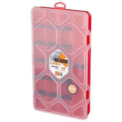Фото - Органайзер BLOCKER Master BR3782 35.5x20x4.5 см 14'' красный органайзер blocker ромб br4003 20x20x4 5 см 8 красный