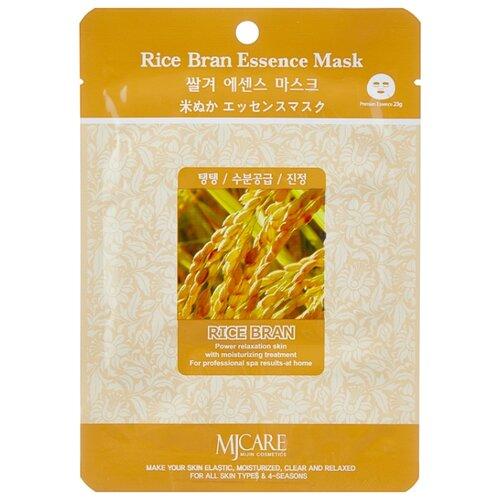 Купить MIJIN Cosmetics тканевая маска Rice Bran Essence с рисовыми отрубями, 23 г