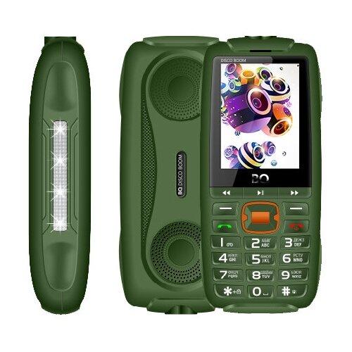 Телефон BQ 2825 Disco Boom темно-зеленый телефон bq 2825 disco boom черный