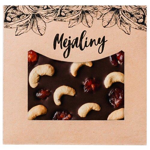 Шоколад Mejaliny молочный с орехом кешью и вишней, 38%, 80 г