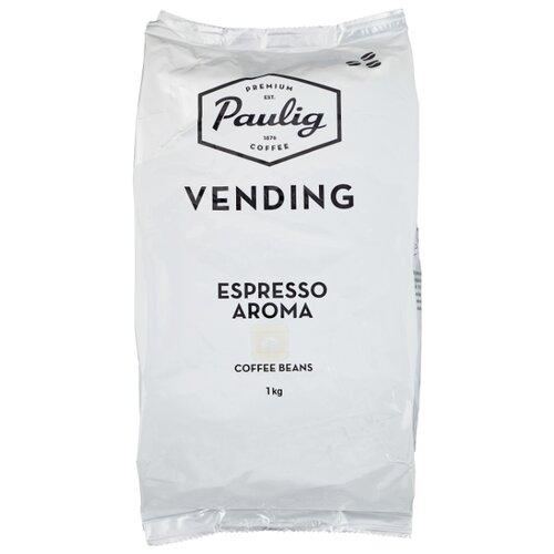 Кофе в зернах Paulig Vending Espresso Aroma, арабика/робуста, 1 кг кофе в зернах paulig arabica 250г