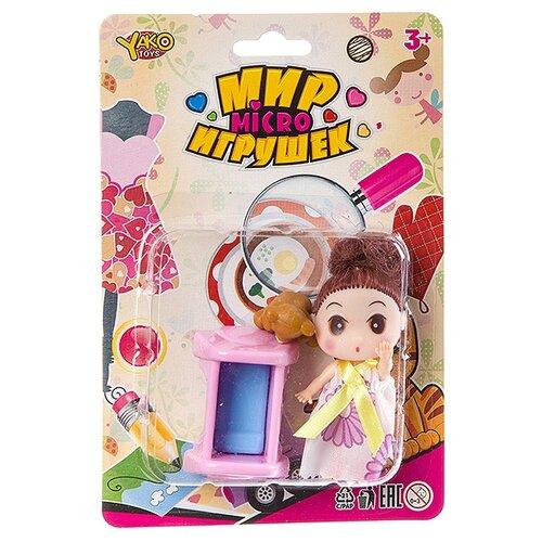 Фото - Игровой набор Yako Мир micro Игрушек, Д93937 набор машин yako мир моих игрушек m7558 1 белый