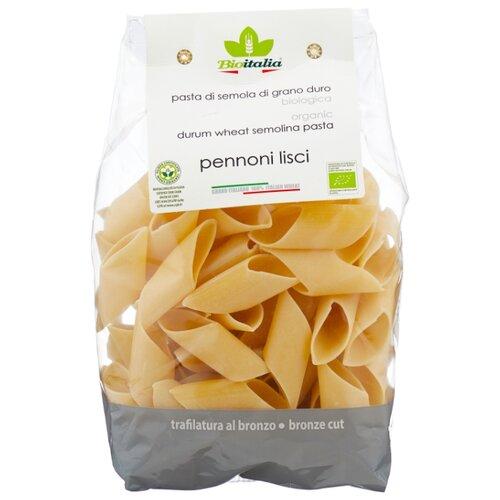 Bioitalia Макароны Organic Pennoni lisci, 500 г