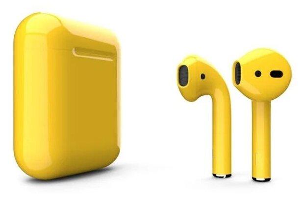 Беспроводные наушники Apple AirPods 2 Color (без беспроводной зарядки чехла) — купить по выгодной цене на Яндекс.Маркете
