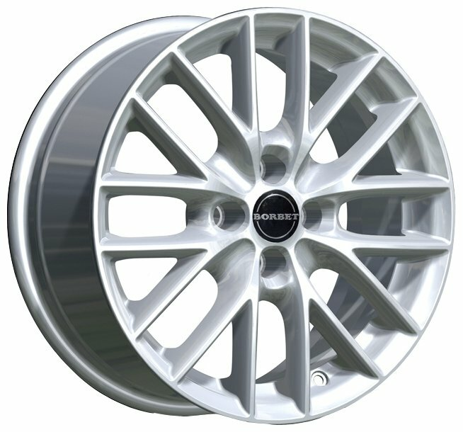 Колесный диск Borbet BS 4 6.5x15/4x108 D64.1 ET40 Silver