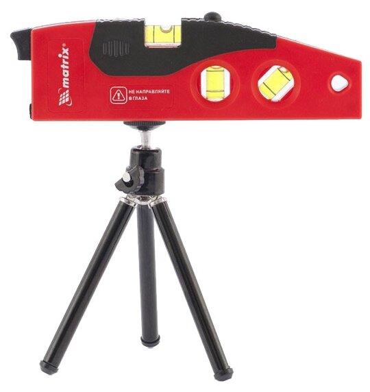 Лазерный уровень matrix 180 мм (35022) со штативом