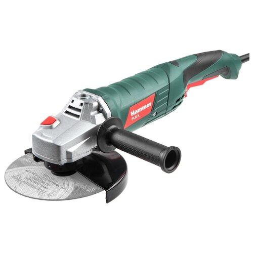 Фото - УШМ Hammer USM1650D, 1650 Вт, 180 мм ушм hammer usm710d 710 вт 125 мм
