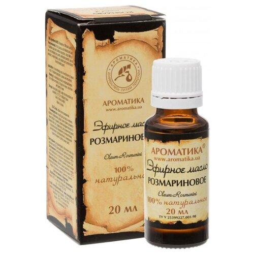 Ароматика эфирное масло Розмарин 20 мл масло для душа ароматика ароматика ar048lwexeu7