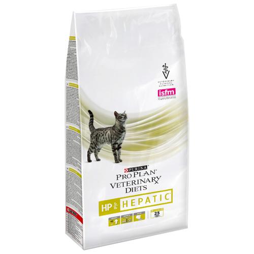 Фото - Корм для кошек Pro Plan Veterinary Diets Feline HP Hepatic dry (1.5 кг) корм для кошек pro plan veterinary diets feline en gastrointestinal canned 0 195 кг 24 шт