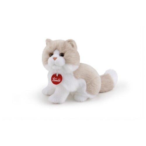 Купить Мягкая игрушка Trudi Кошка Гиада бежево-белая 23 см, Мягкие игрушки