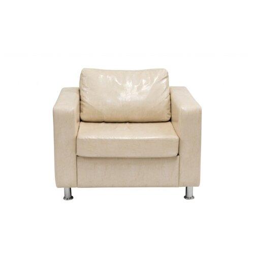 Кресло, Мягкий офис, Офис Классик Экокожа Oslo, бежевый