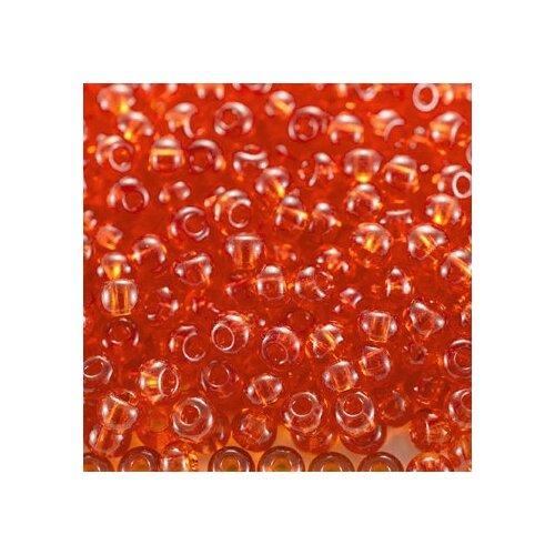Купить Бисер Preciosa , 10/0, 50 грамм, цвет: 90030 оранжевый, Фурнитура для украшений