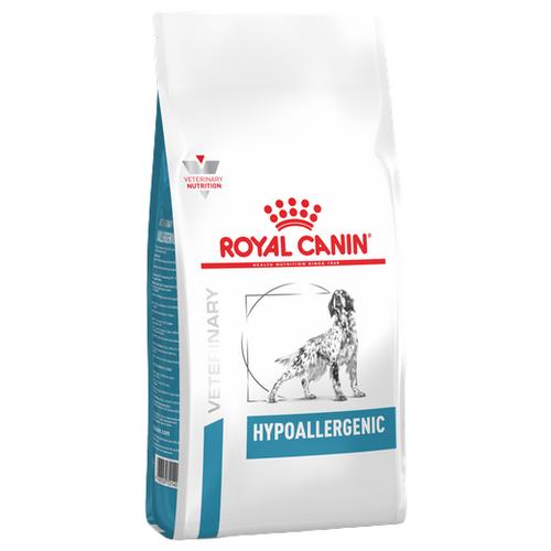 Сухой корм для собак Royal Canin Hypoallergenic DR21 при аллергии 7 кг корм сухой royal canin vet sensitivity control sc21 для собак при пищевой аллергии или непереносимости с уткой 1 5 кг