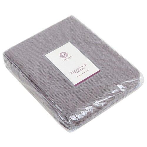 Покрывало Luxberry Vincent, 240 х 260 см, серый