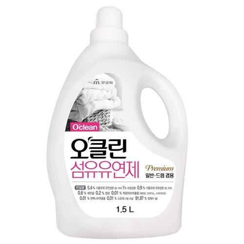 Фото - Mukunghwa Кондиционер для белья O`clean Fabric Softener, 1.5 л кондиционер для белья nihon softener premium rose 500 мл