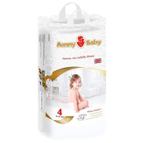 Купить Mommy Baby подгузники 4 (9-14 кг) 44 шт., Подгузники