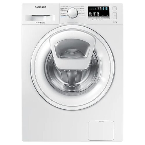 Фото - Стиральная машина Samsung WW60K40G08W стиральная машина samsung ww80r42lhfw