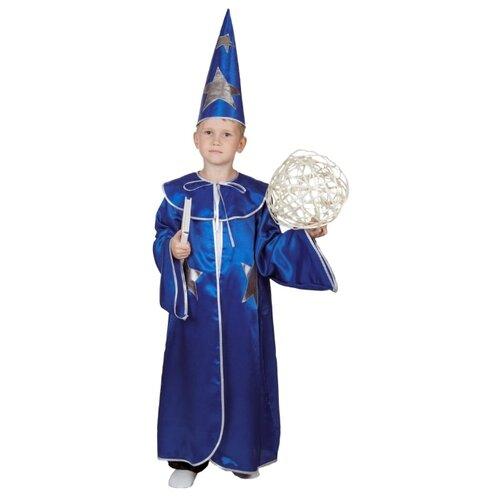 Купить Костюм ВИНИ Звездочет (ВК-91081), синий, размер 122-128, Карнавальные костюмы