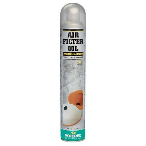 Пропитка для фильтров Motorex Air Filter Oil SPRAY 0.8 л цена 2017