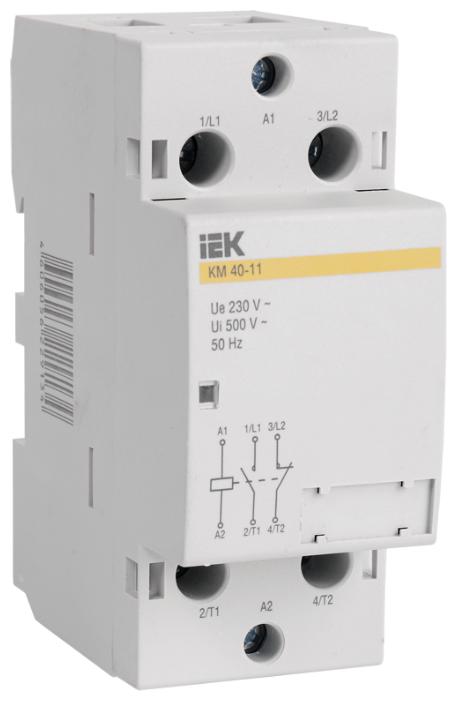 Модульный контактор IEK MKK10-40-20 40А