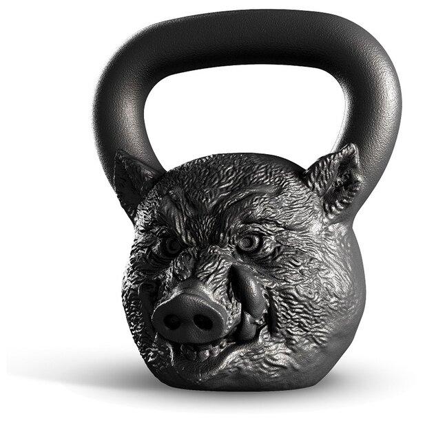 Гиря цельнолитая Iron Head Кабан 16 кг