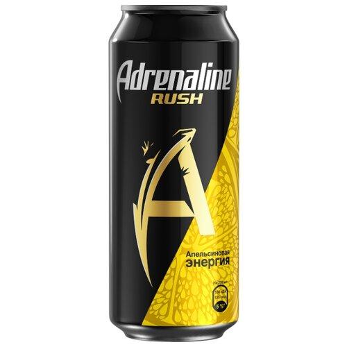 Энергетический напиток Adrenaline Rush Juicy апельсиновая энергия, 0.449 лЭнергетические напитки<br>